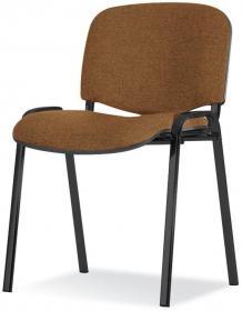 Krzesło biurowe Nowy Styl Iso Black, brązowy