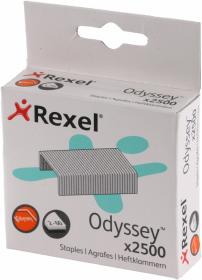 Zszywki Rexel Odyssey, 9/13, 2500 sztuk, srebrny