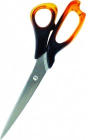 Nożyczki biurowe Grand, 21.5cm, bursztynowy