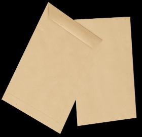 Koperta standardowa NC, C4 klejona na mokro NK, 50 sztuk, brązowy