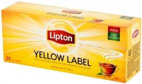 Herbata czarna w torebkach Lipton Yellow Label, 25 sztuk x 2g