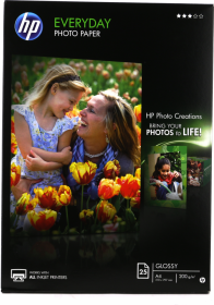 Papier foto HP Everyday Photo Q5451A, A4, 200g/m2, 25 arkuszy, błyszczący
