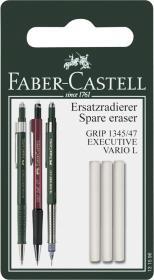 Gumki wymienne do ołówka Faber-Castell, biały