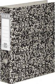 Segregator VauPe, A4, szerokość grzbietu 75mm, do 500 kartek, marmurek
