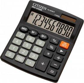 Kalkulator biurowy Citizen, SDC-810, 10 cyfr, czarny