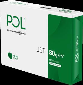 Papier ksero Poljet, A3, 80g/m2, 500 arkuszy, biały
