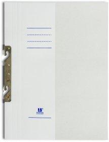 Skoroszyt kartonowy zawieszany Barbara, 1/2 A4, do 150 kartek, 280g/m2, biały