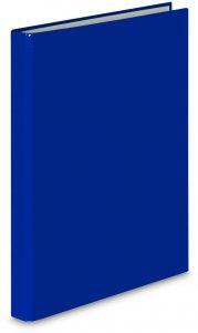Segregator ringowy VauPe FCK, A4, szerokość grzbietu 25mm, do 150 kartek, 2 ringi, niebieski