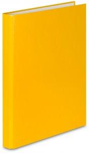 Segregator ringowy VauPe FCK, A4, szerokość grzbietu 25mm, do 150 kartek, 2 ringi, żółty