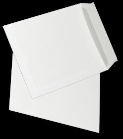 Koperta standardowa NC, C4, z paskiem HK, 50 sztuk, biały
