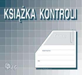 Druk akcydensowy Książka kontroli MiP, A5, offsetowy, 16k