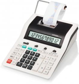Kalkulator z funkcją drukowania Citizen CX-123N, 12 cyfr, biało-czarny