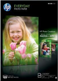 Papier foto HP Everyday Photo Q2510A, A4, 200g/m2, 100 arkuszy, błyszczący