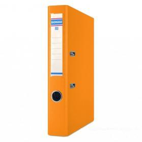 Segregator Donau Master, A4, szerokość grzbietu 75 mm, do 500 kartek pomarańczowy