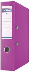 Segregator Donau Master, A4, szerokość grzbietu 75 mm, do 500 kartek, różowy