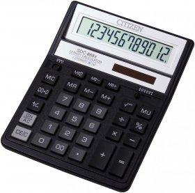 Kalkulator biurowy Citizen SDC-888X, 12 cyfr, czarny