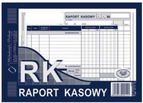 Druk akcydensowy Raport kasowy MiP, A5, 1 kopia, 80k