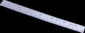 Wpinki do segregatorów Argo, dziurkowane, 100 sztuk, transparentny