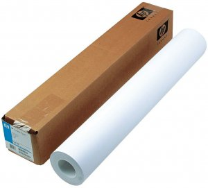 "Papier do plotera w roli HP, C6019b, 90g/m2, 610mm x 45.7m, gilza 2"""