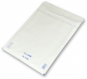 Koperta bąbelkowa, NC, K/20, 370x480mm, 1 sztuka, biały