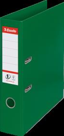 Segregator Esselte No.1 Power, A4, szerokość grzbietu 75mm, do 500 kartek zielony