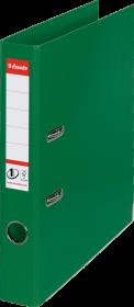 Segregator Esselte No.1 Power, A4, szerokość grzbietu 50mm, do 350 kartek, zielony