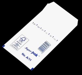 Koperta bąbelkowa NC, A/11, 120x175mm, 1 sztuka, biały