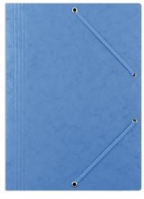 Teczka preszpanowa z gumką Donau, A4, 390g/m2 niebieski