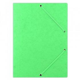 Teczka preszpanowa z gumką Donau, A4, 390g/m2 zielony