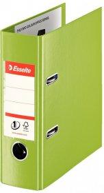 Segregator Esselte No.1 Power, A5, szerokość grzbietu 75mm, do 500 kartek, zielony