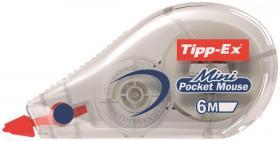 Korektor w taśmie Tipp-Ex Mini Pocket Mouse, 5mmx6m