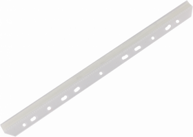 Listwa samoprzylepna wpinana Argo, pasek kleju 8mm, 100 sztuk, transparentny