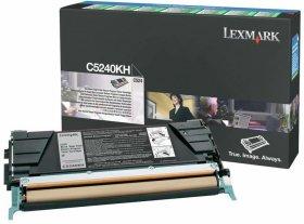 Toner Lexmark (C5240KH), 8000 stron, black (czarny)