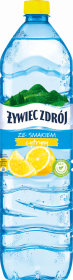 Woda smakowa niegazowana Żywiec Zdrój, cytrynowy, 1.5l