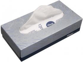 Chusteczki higieniczne Kleenex, 100 sztuk, w kartoniku