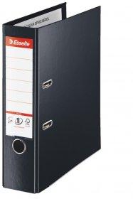 Segregator Esselte No.1 Vivida Plus, A4, szerokość grzbietu 80mm, do 600 kartek, czarny