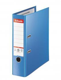 Segregator Esselte No.1 Vivida Plus, A4, szerokość grzbietu 80mm, do 600 kartek, niebieski