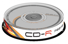 Płyta CD-R Omega Freestyle, do jednokrotnego zapisu, 700 MB, cake box, 10 sztuk