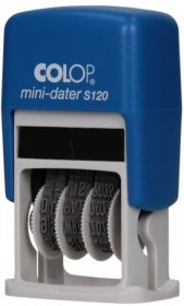 Datownik Colop, Mini Printer S 120, wersja polska, niebieski