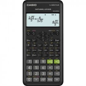 Kalkulator naukowy Casio FX-82ES PLUS, 25 cyfr, 252 funkcje, granatowy