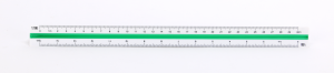 Skalówka Leniar, 30cm, nr4 1:2.5-1:100, mix kolorów