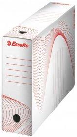 Pudło archiwizacyjne Esselte Standard, do luźnych dokumentów, 100mm, biały