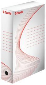 Pudło archiwizacyjne Esselte Standard, do luźnych dokumentów, 80mm biały