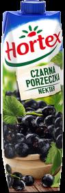 Sok czarna porzeczka Hortex, karton, 1l