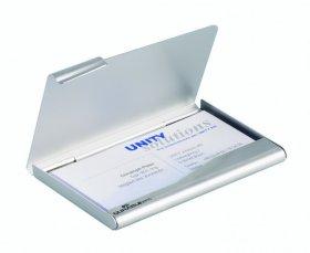 Wizytownik kieszonkowy Durable aluminiowy