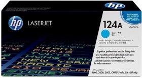 Toner HP 124A (Q6001A), 2000 stron, cyan (błękitny)