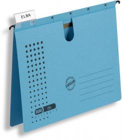 Skoroszyt zawieszany Elba Chic Ultimate, A4, 245x318mm, 230g/m2, niebieski