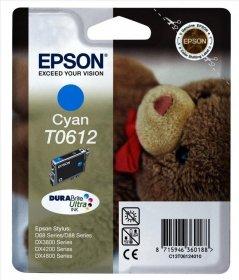 Tusz Epson T0612 (C13T061240), 250 stron, cyan (błękitny)