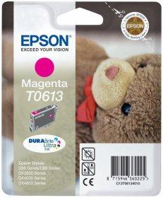 Tusz Epson T0613 (C13T061340), 250 stron, magenta (purpurowy)