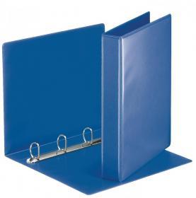 Segregator prezentacyjny Esselte Panorama, A4, szerokość grzbietu 51mm, do 280 kartek, 4 ringi, niebieski